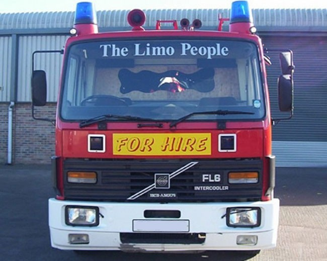 Fire Engine Hire UK | Novelty Vehicle Hire in UK | Prom in Style