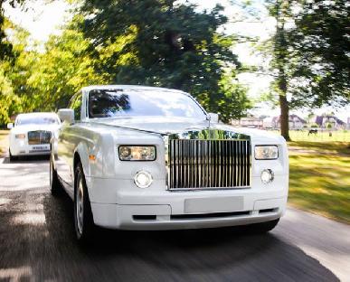 Modern Wedding Cars