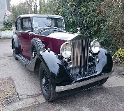 1937 Rolls Royce Phantom in Dursley