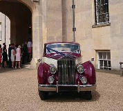 1955 Rolls Royce Silver Wraith in Glastonbury