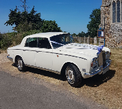 1974 Classic white Rolls Royce Silver Shadow in New Alresford