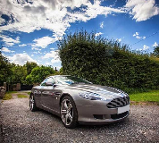 Aston Martin DB9 Hire in Abertillery
