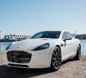 Aston Martin Rapide Hire in Mayfair