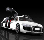 Audi R8 Limo Hire in Caerphilly