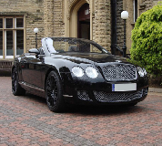 Bentley Continental Hire in Portishead
