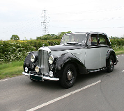 Bentley MK VI Hire in Newton le Willows