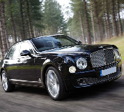 Bentley Mulsanne in Wimbledon
