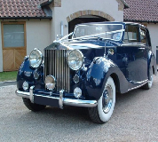 Blue Baron - Rolls Royce Silver Wraith Hire in Dursley