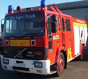 Fire Engine Hire in Nottingham