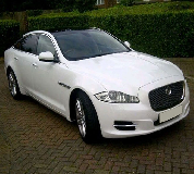 Jaguar XJL in Newton le Willows