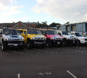 Jeep Limos and 4x4 Limos in Mere