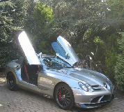 Mercedes Mclaren SLR Hire in Caerphilly