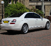 Mercedes S Class Hire in Stroud