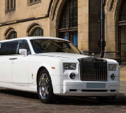 Rolls Royce Phantom Limo in Portishead