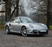 Porsche 911 Turbo Hire in Ludgershall