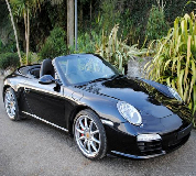 Porsche Carrera S Convertible Hire in West Bridgefield