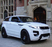 Range Rover Evoque Hire in Wood Green