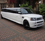 Range Rover Limo in Barking