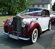 Regal Lady - Rolls Royce Silver Dawn Hire in Killamarsh
