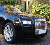 Rolls Royce Ghost - Black Hire in Eastwood