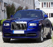 Rolls Royce Ghost - Blue Hire in Nottingham