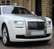 Rolls Royce Ghost - White Hire in Eastwood