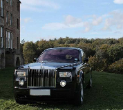 Rolls Royce Phantom - Black Hire in Dursley