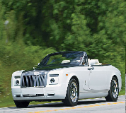 Rolls Royce Phantom Drophead Coupe Hire in Westbury