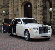 Rolls Royce Phantom Hire in Pendlebury