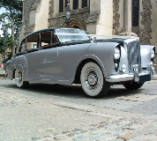 Silver Lady - Bentley Hire in West Bridgefield